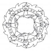 Free Mandala Template 01
