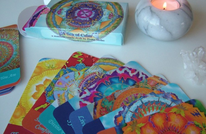sea of calm mandala oracle deck fionastolze